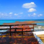 pier out to caribbean sea